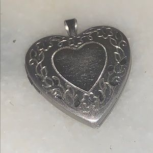 Jewelry - 🌝2 FOR $20 Sterling silver vintage heart locket